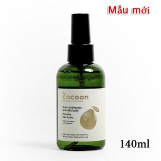 Nước dưỡng tóc tinh dầu vỏ bưởi POMELO COCOON giảm rụng tóc, kích thích mọc tóc, phục hồi tóc hư tổn 140ml thumbnail