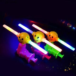 💮🐬Windmills Flashing Light LED Music Spinning Glow Toys for Kids Gift