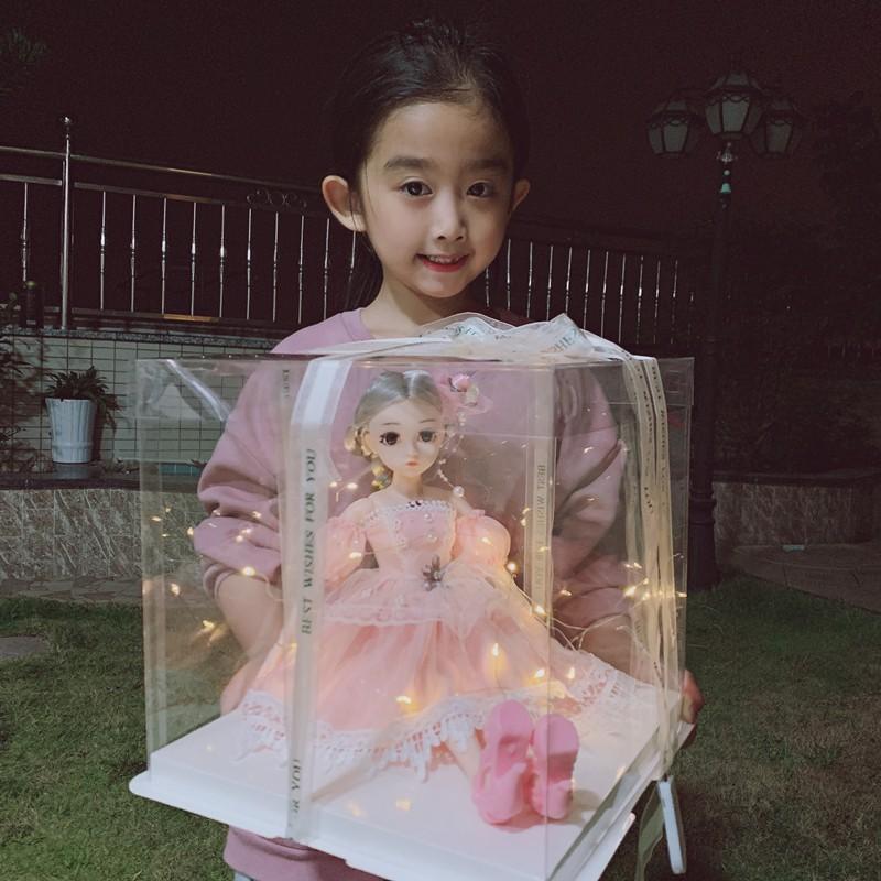 Bộ Đồ Chơi Búp Bê Barbie Xinh Xắn Cho Bé