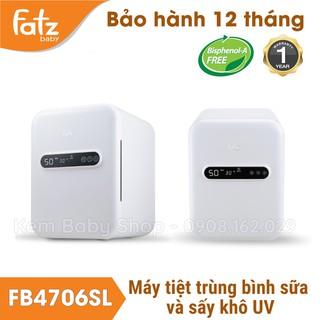 [Chính Hãng] Máy tiệt trùng bình sữa sấy khô UV Fatzbaby FB4706SL - Máy tiệt trùng sấy khô Fatz baby FB4706SL thumbnail