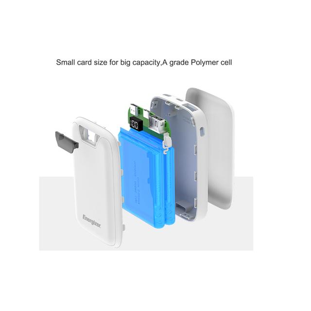 Hình ảnh [Nhập mã ENER20 giảm ngay 20k]Pin Sạc dự phòng Energizer 10,000mAh /3.7V Li-Polymer - UE10042BK-3