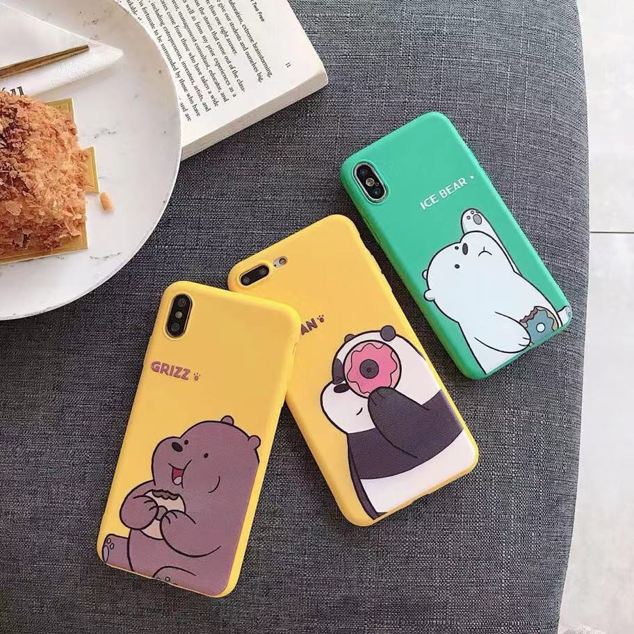 ốp lưng hình gấu xinh xắn dành cho điện thoại iphone - 14881537 , 2262181807 , 322_2262181807 , 86800 , op-lung-hinh-gau-xinh-xan-danh-cho-dien-thoai-iphone-322_2262181807 , shopee.vn , ốp lưng hình gấu xinh xắn dành cho điện thoại iphone