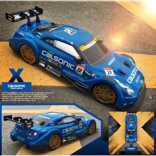 Xe ô tô đua tốc độ cao & Drift – Nissan Calsonic (Màu xanh)