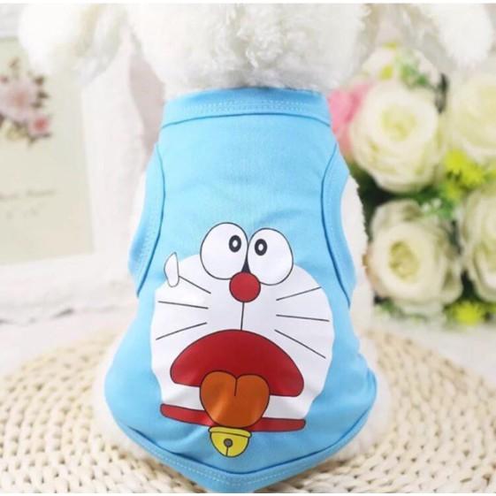 áo chó mèo hình toroto và ddoorremon size m,l,xl,xxl