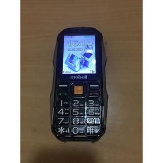 Xác điện thoại Mobell Rock 3 bị vỡ khung