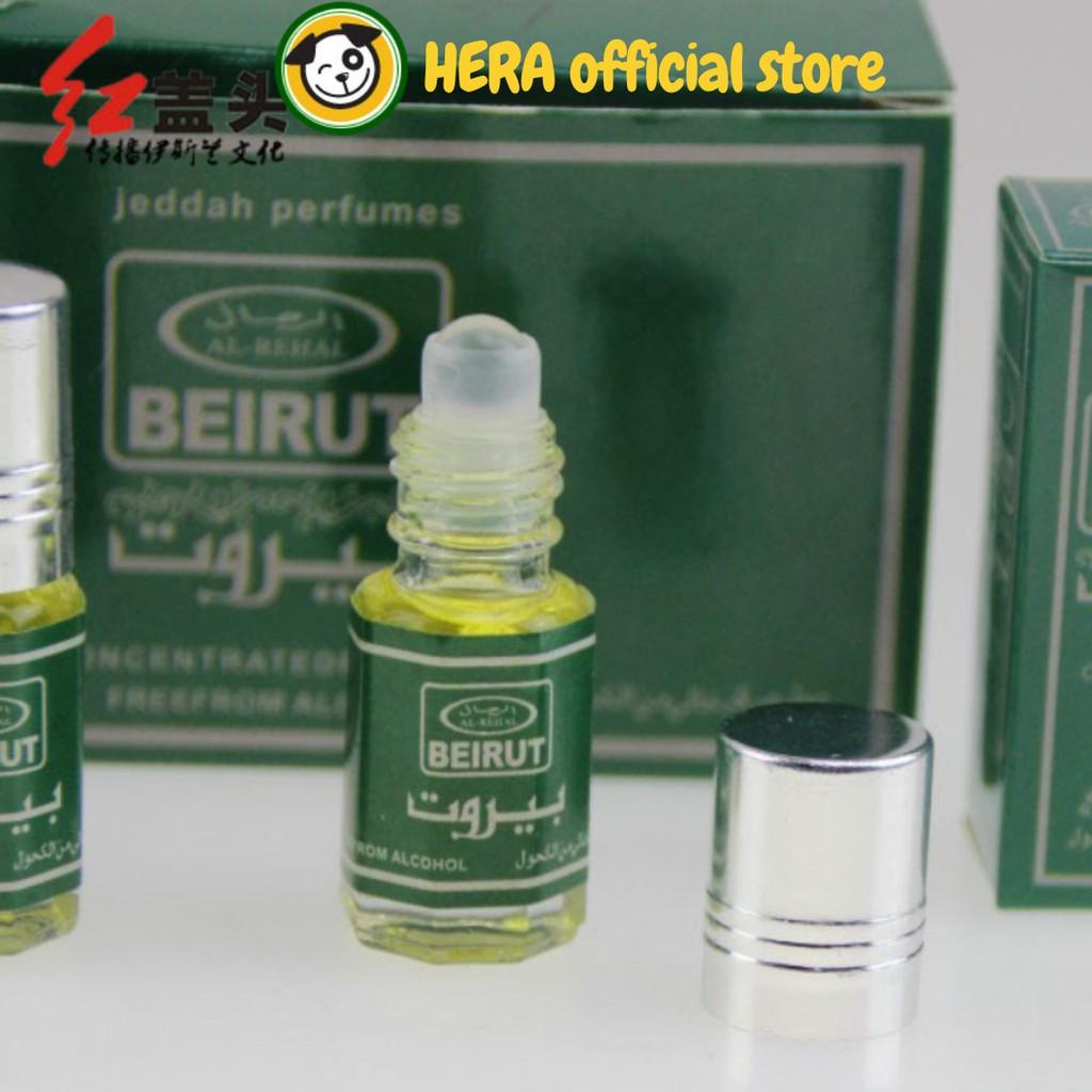 Nước hoa Dubai dạng lăn mùi hương dễ chịu 3ml 6ml NH06
