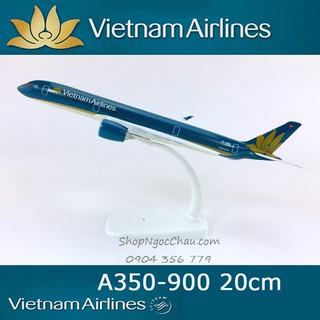 Mô hình máy bay tĩnh Airbus A350-900 Vietnam airlines 20cm