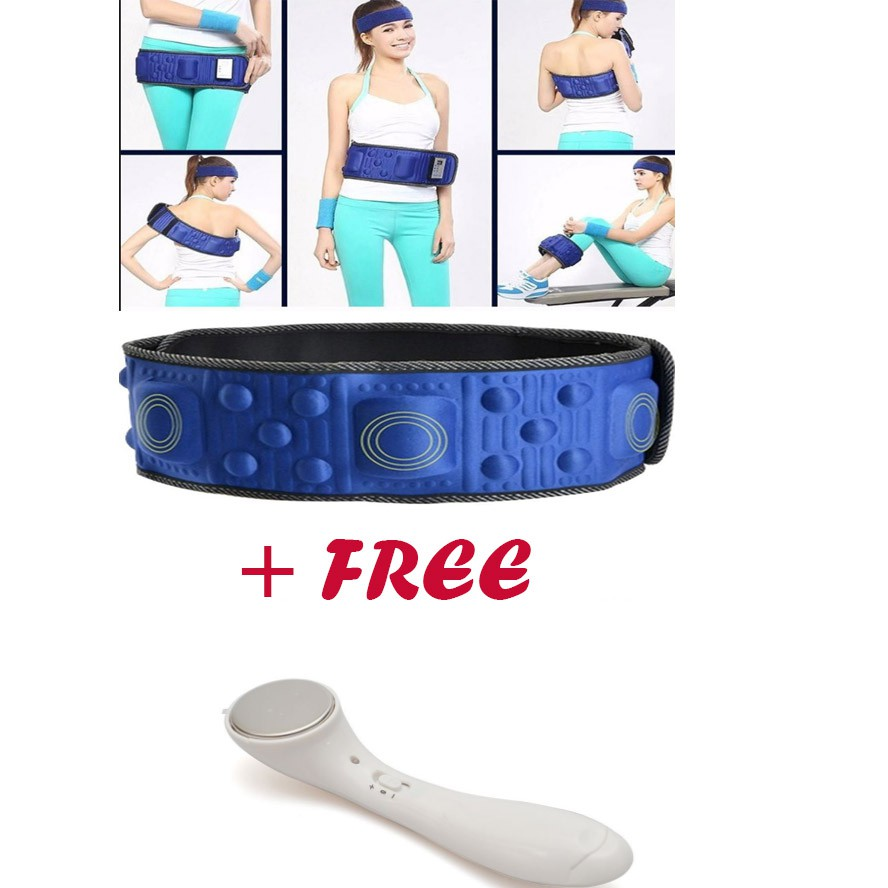 Đai massage giảm béo , eo thon X5 tặng kèm máy massage mặt ion - 2757383 , 422407473 , 322_422407473 , 159000 , Dai-massage-giam-beo-eo-thon-X5-tang-kem-may-massage-mat-ion-322_422407473 , shopee.vn , Đai massage giảm béo , eo thon X5 tặng kèm máy massage mặt ion