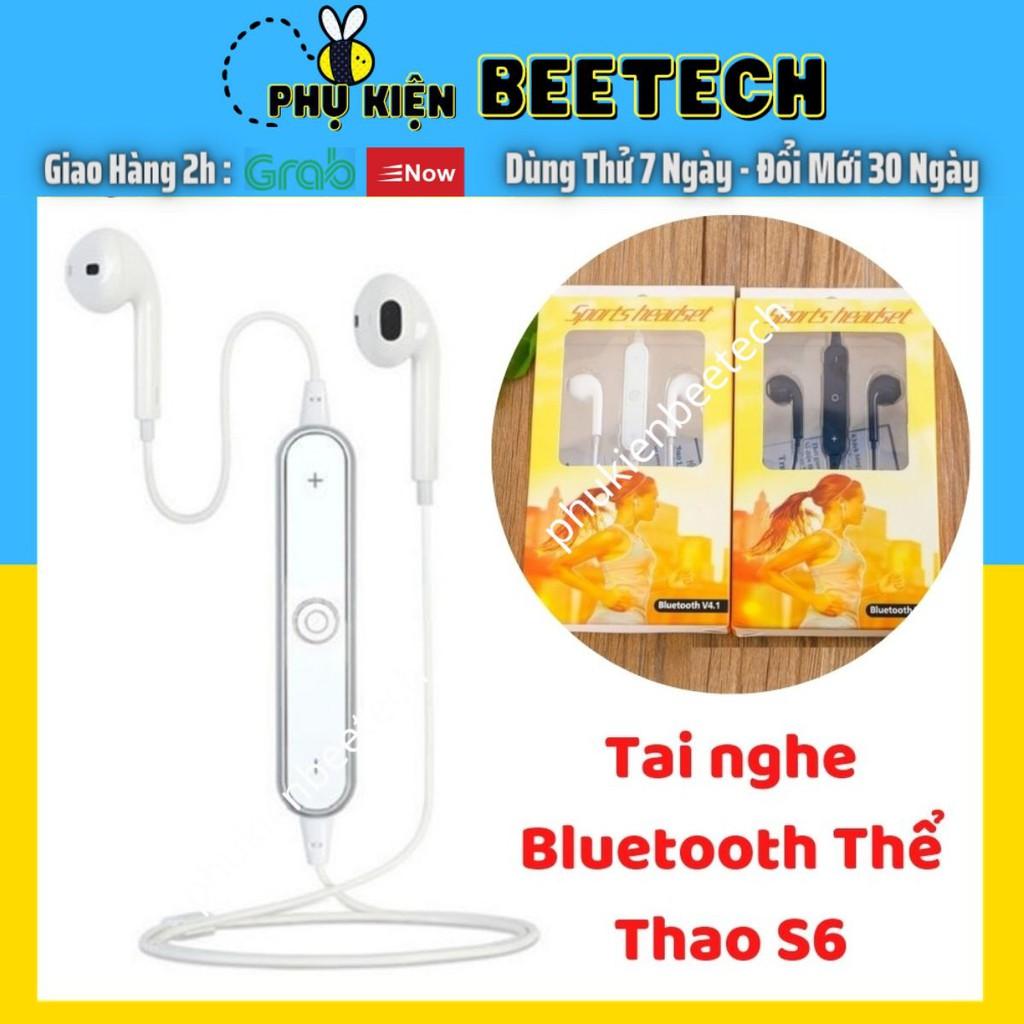 Tai nghe bluetooth thể thao S6 - Beetechvietnam