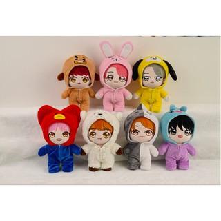 Doll BTS kèm 3 outfit (không bán lẻ)