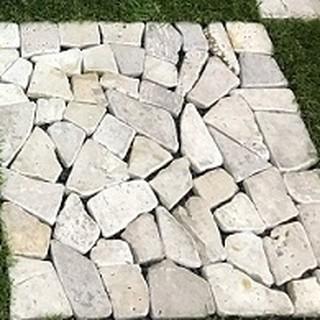 Vỉ đá tự nhiên lót sàn ban công KT 30x30cm