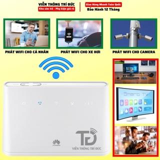 Bộ Phát Wifi 3G/4G Huawei B311AS/B311B Kết nối cùng lúc 32 Thiết bị, Tốc độ dữ liệu CAT4 – 150Mbps, Max LAN 1000Mbps