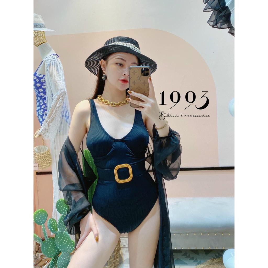 Bikini, Đồ Bơi Đi Biển Một Mảnh Thân Liền Khoen Gỗ Vuông Secxy KG07200  ODERI giá cạnh tranh