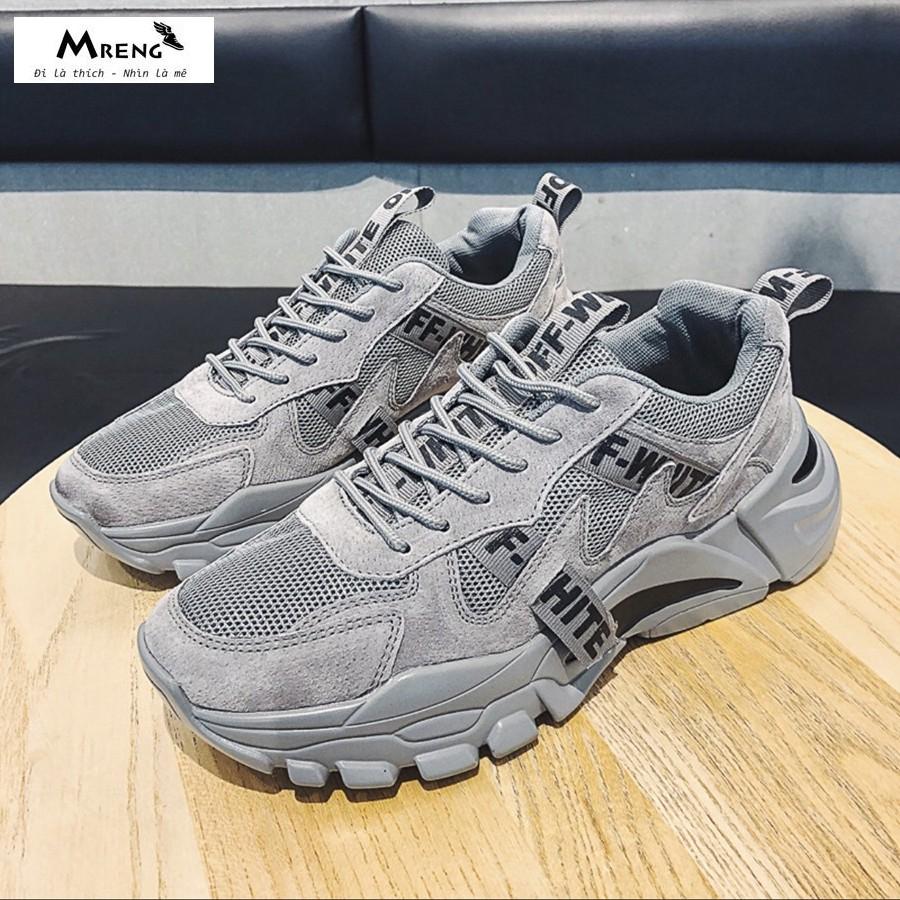Giày Sneaker Nam ♥️ FREESHIP+HOÀN XU ♥️Giày Thể Thao Nam Cao Cấp Chính Hãng - MRENG MS20