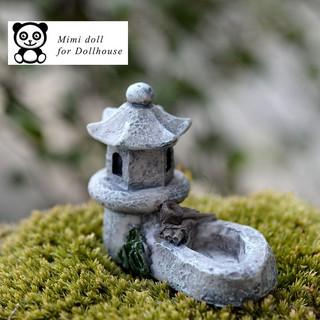 Cối nước trang trí nhà búp bê tiểu cảnh 4*5cm Minidoll