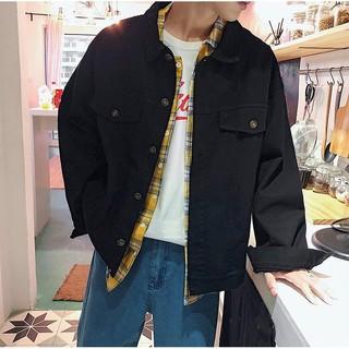 Áo khoác kaki jean UNISEX Nam Nữ đều mang được