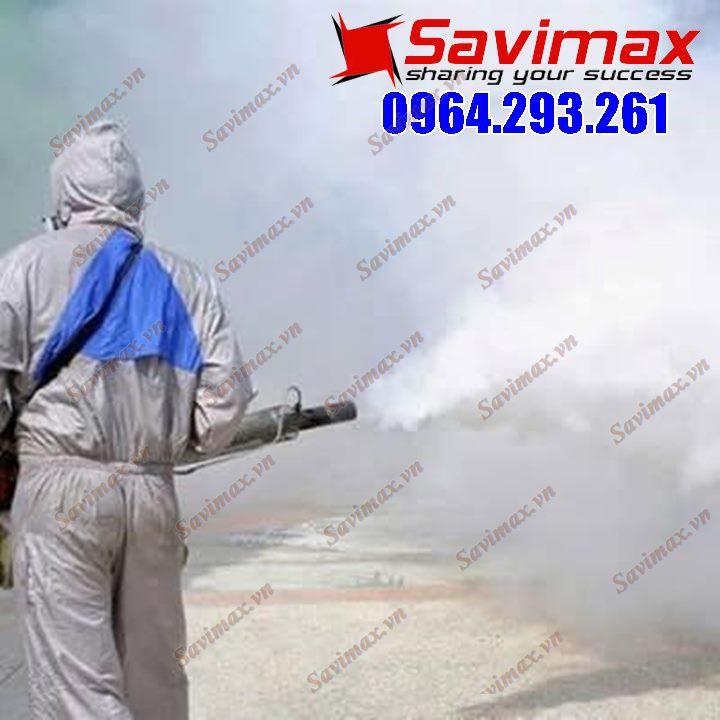 Máy phun thuốc sâu dạng khói, diệt trừ côn trùng Hàn Quốc VNPK 150SK [TẶNG DUNG MÔI TẠO KHÓI]