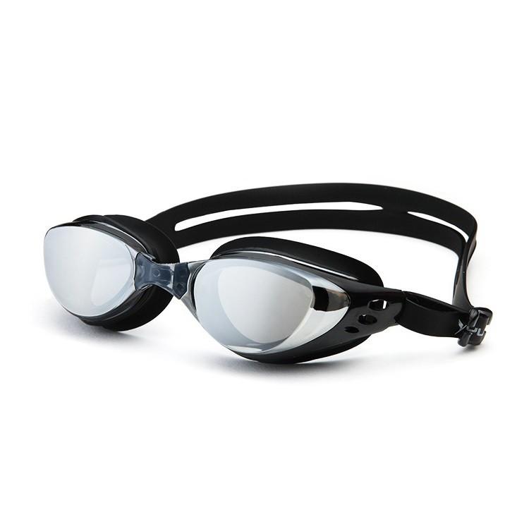Kính bơi cận 4,5 độ thế hệ mới 610 Đen kiểu dáng thời trang nhỏ gọn, chống UV, chống sương mờ POPO C
