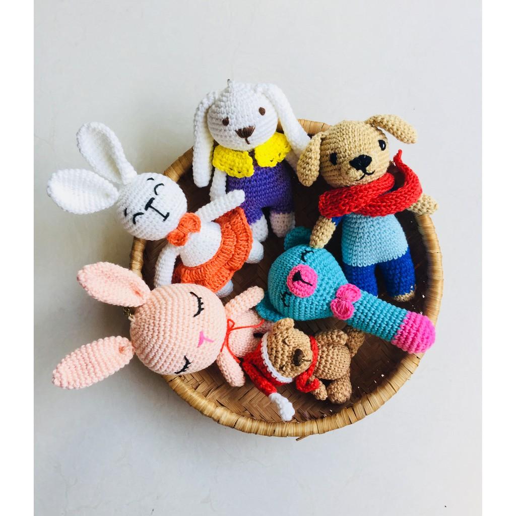 Thú bông các loại handmade- @bellascrochet_corner