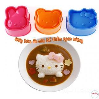 Set 6 Khuôn Tạo Hình Cơm , Trứng ,Làm Bánh Cho Bé Ăn Dặm Ngon Miệng 2570 giadung store88