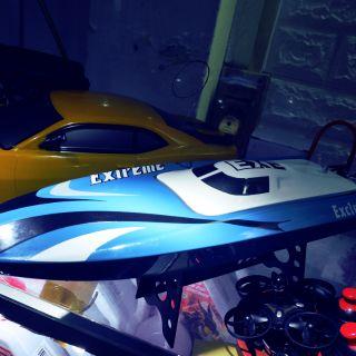 Mini boat Exe exclusive tàu chạy tôc độ cao 80km/h.