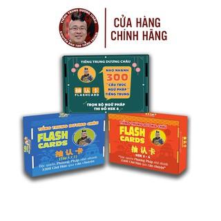 Flashcard - Combo Flashcard Từ Vựng Tiếng Trung 1234 Và Flashcard Ngữ Pháp - Phạm Dương Châu thumbnail