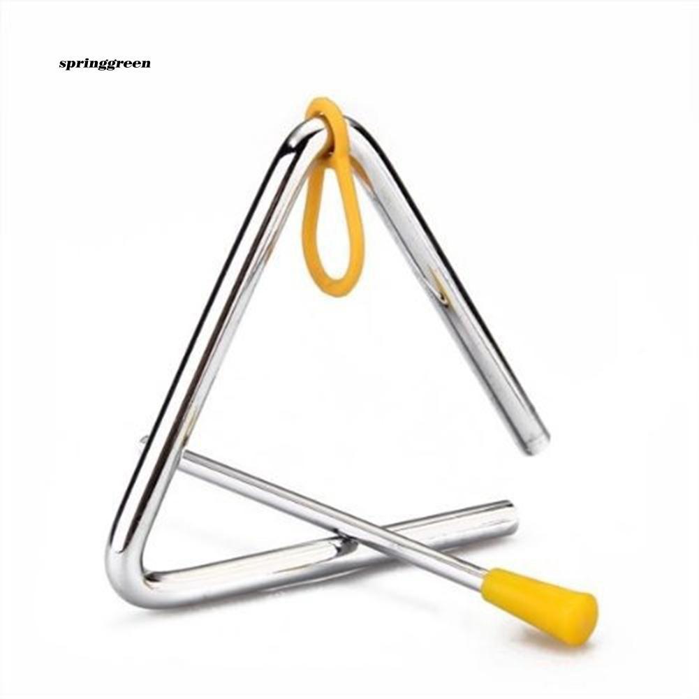 SPR♥Kids Musical Instrument Percussion Triangle Bell Kindergarten Teaching Kits