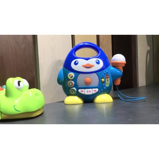 [THANH LÝ] Đàn nhạc chim cánh cụt kèm mic Winfun(Quà tặng từ Moony)