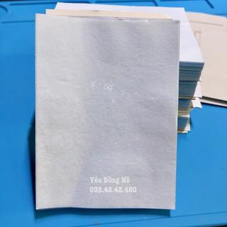 Xấp giấy quấn mặt đồng hồ chống bụi và xước
