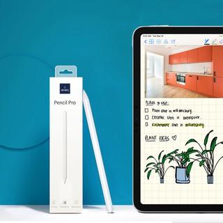 Bút Cảm Ứng WiWu Pencil Pro Cho iPad Viết Vẽ Nghiêng Hơn 60 Độ, Chống Tì Tay Như Apple Pencil, Hít Vào Ipad thumbnail
