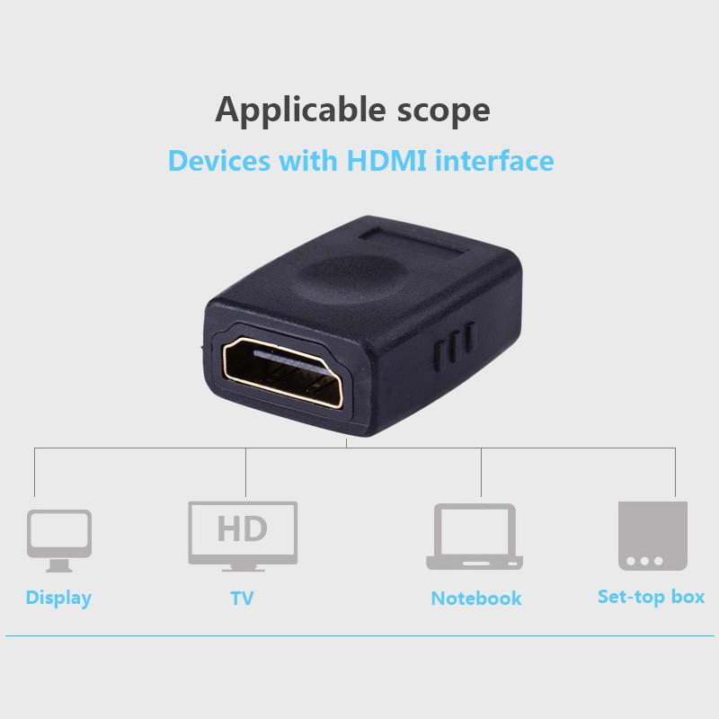 Đầu nối HDMI 2 đầu âm - Vention H380HDFF - BEN