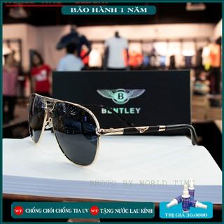 Kính mát nam Bentley tròng Polazied, chống lóa,Full box ,thời trang cao cấp bảo hành 12 tháng