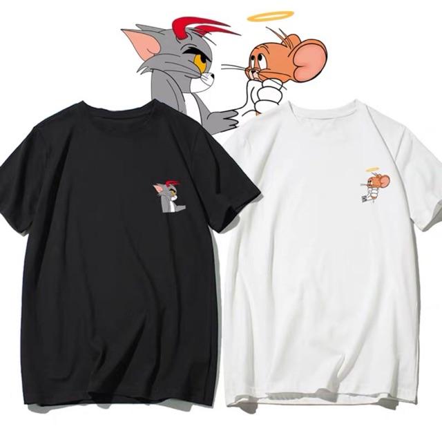 [ORDER] Áo đôi tom & jerry (áo đôi chuột và mèo)