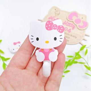 2 móc dán tường treo đồ đa năng Hello Kitty thumbnail