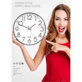 Đồng hồ treo tường phong cách Bắc Âu