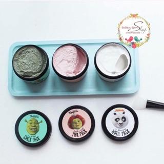 Mặt nạ Đất sét Shrek Pack Mask - Pink Pack - White pact thumbnail