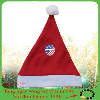 [Siêu Khuyến Mãi] – Mũ Ông Già Noel Giáng Sinh Cao Cấp Giá Rẻ