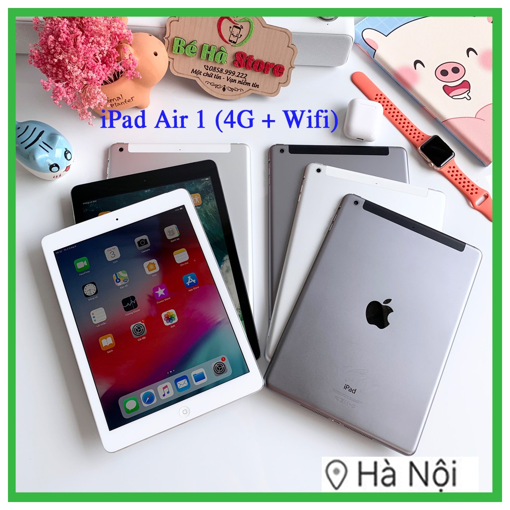 iPad Air 1 - 16/ 32/ 64Gb (Wifi + 4G) - Zin Đẹp 99% Như Mới (BH 6 tháng)