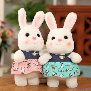 búp bê nhồi bông hình thỏ dễ thương