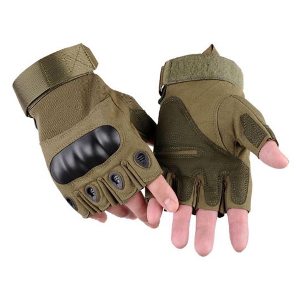 Găng tay tập GYM, đi phượt bảo vệ cổ tay và khớp ngón tay - Hàng chính hãng