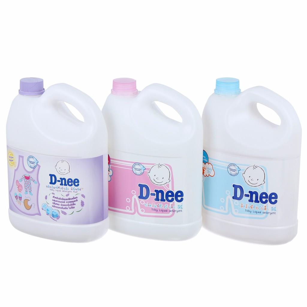Nước giặt, xả quần áo D-nee 3000ml