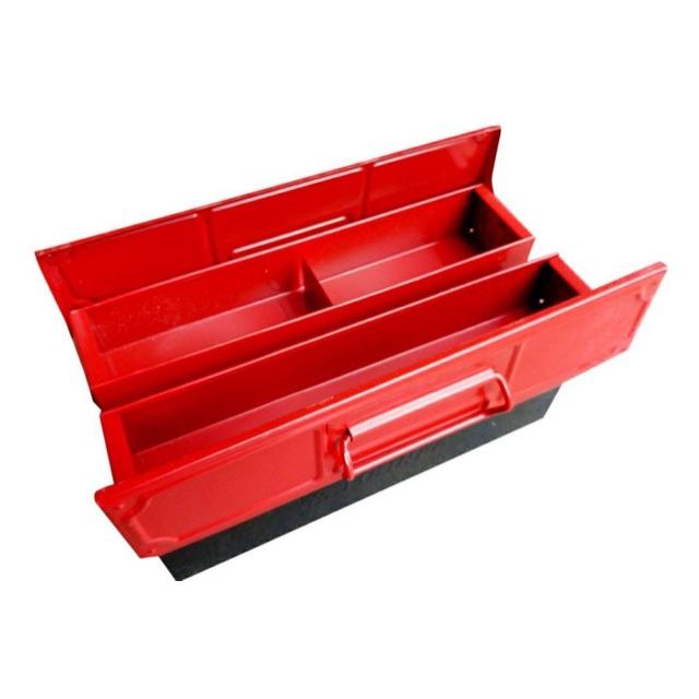 Hộp đựng dụng cụ sắt đỏ đen 360x160x160