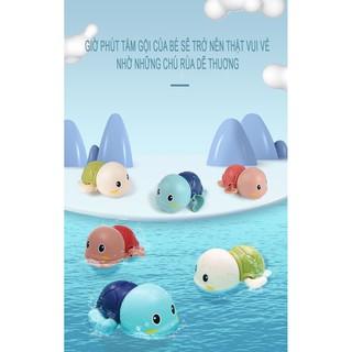 [ Sẵn, đổ sỉ sll ] Đồ chơi cho bé rùa bơi chạy cót thả bể, bồn tắm