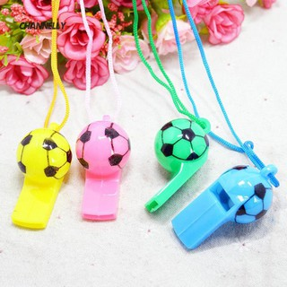 ■Cy 10Pcs Mini Kid Soccer Football Whistle Cheerleading Party Arena Toy