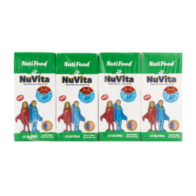 Sữa tiệt trùng NuVita có đường lốc 4 hộp x 110ml( tặng kèm xe ô tô) - 2636125 , 171681171 , 322_171681171 , 13000 , Sua-tiet-trung-NuVita-co-duong-loc-4-hop-x-110ml-tang-kem-xe-o-to-322_171681171 , shopee.vn , Sữa tiệt trùng NuVita có đường lốc 4 hộp x 110ml( tặng kèm xe ô tô)