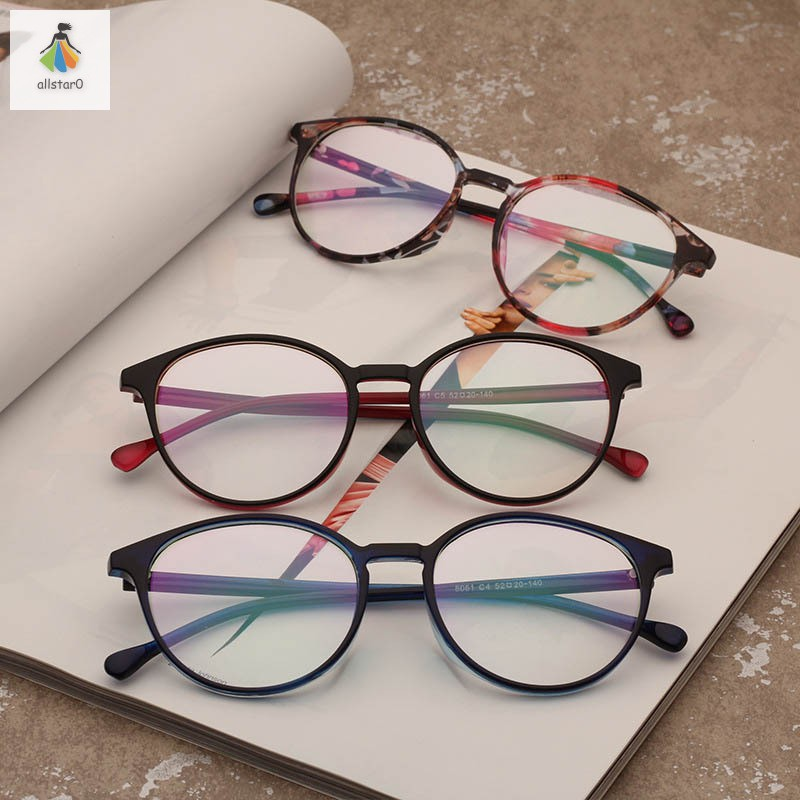 Round Glasses Frame Lightweight Myopia Optical Glasses Frame for Men Women