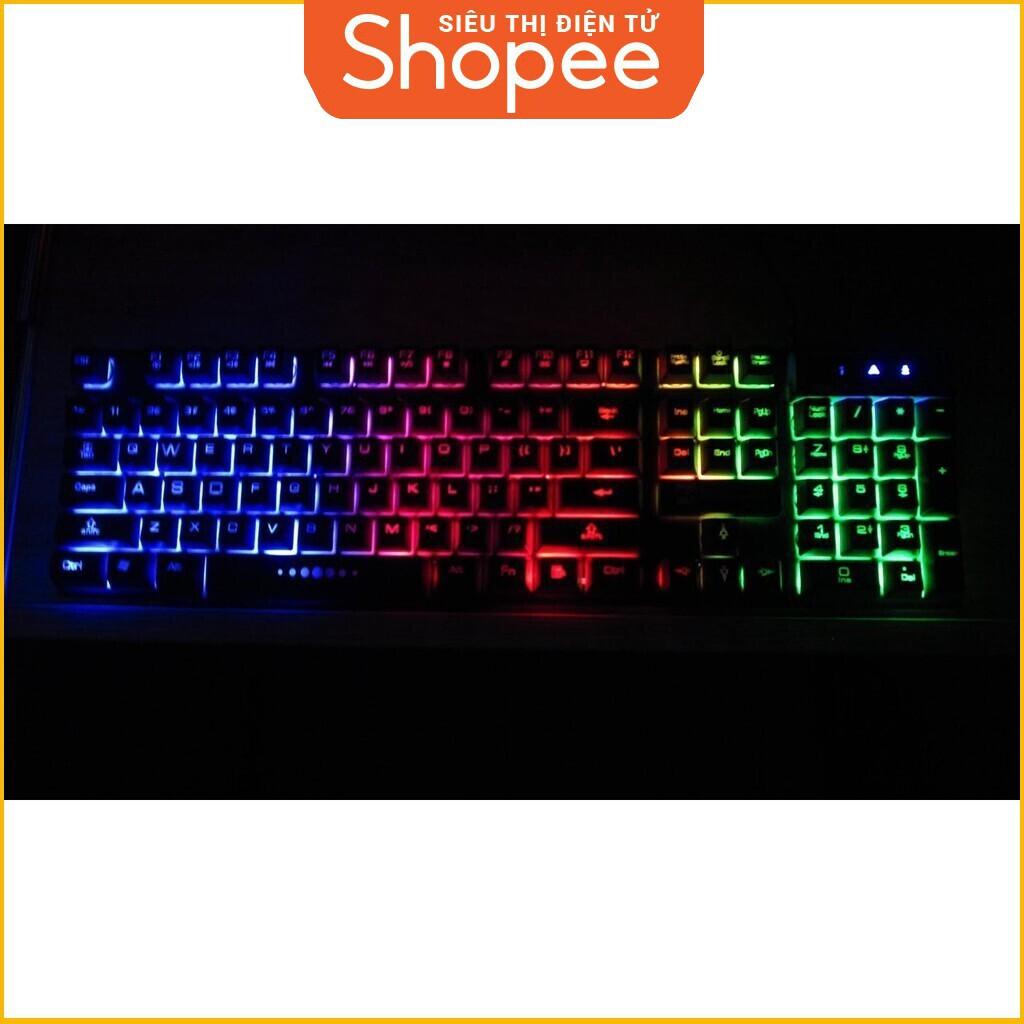 [Siêu Khuyến Mãi] Bàn phím game giả cơ R8 1822 có đèn led 7 màu thiết kế hiện đại Giá chỉ 186.250₫
