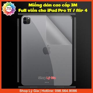 [Mã 1010ELSALE hoàn 7% đơn 300K] Miếng dán 3M full viền mặt sau cho iPad Pro 11 Pro 12.9 Air 4 thumbnail