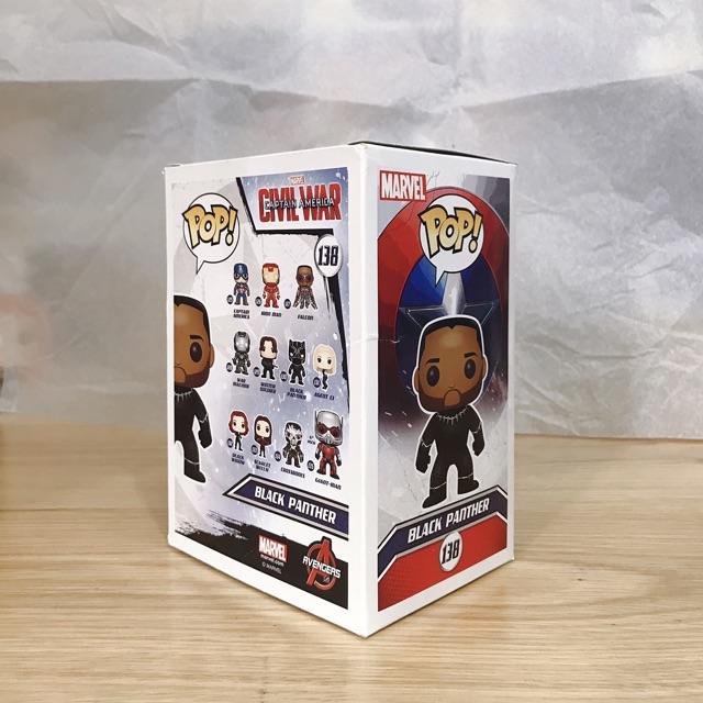 Mô Hình Funko POP! BLACK PANTHER - Civil War (Walgreens Exclusive)