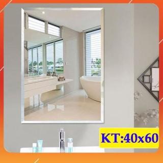 ( giá sỉ ) Gương Soi Nhà Tắm đẹp phôi tráng bạc chống ố mốc thước 40×60 – guonghoangkim mirror